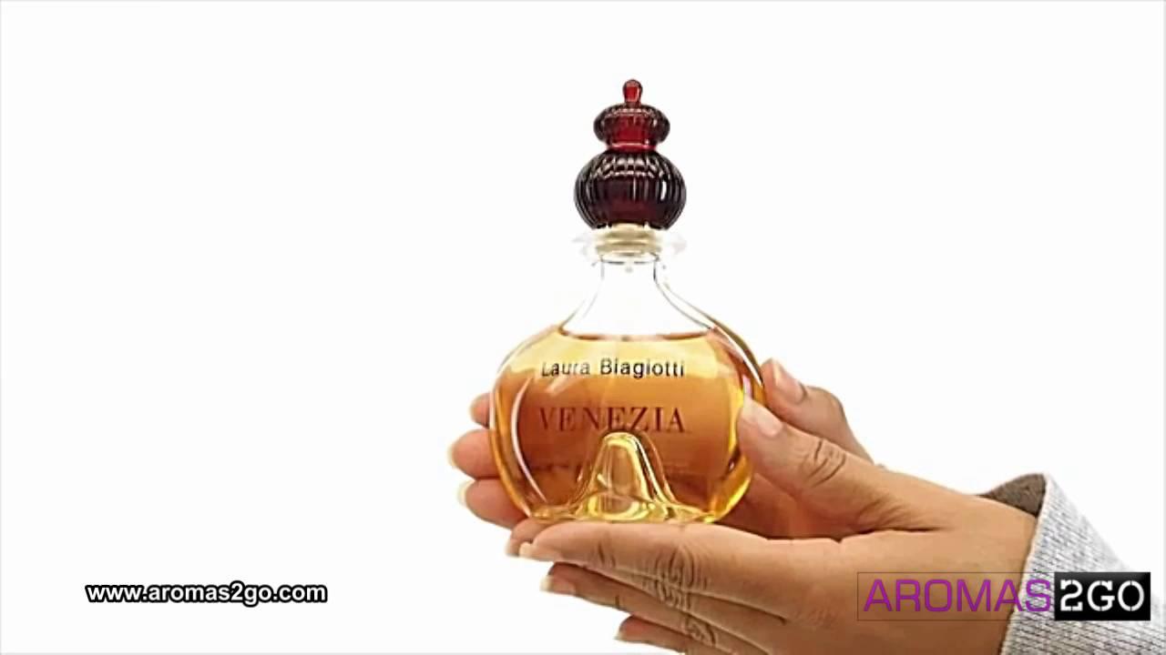 Venezia laura biagiotti — это аромат для женщин, он принадлежит к группе восточные древесные. Venezia выпущен в 1992 году. Парфюмер: michel almairac. Верхние ноты: индийский манго, черная смородина, зеленые ноты, сушеная слива, османтус, персик, бергамот и герань; средние ноты: гвоздика,