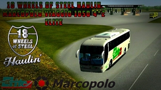 18 WHEELS OF STEEL HAULIN | MAPA DE MEXICO | AGUASCALIENTES-DURANGO | ELITE | MARCOPOLO VIAGGIO 1050