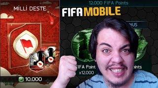 450 TL !! Dünya Sahnesi için Milli Deste Açtım Fifa Mobile
