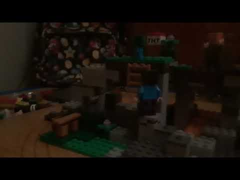 Lego Minecraft part 1 z-zombies!!!!!!