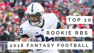 Top 10 Rookie RB Rankings | 2018 Fantasy Football ✔️ 🏈✔️