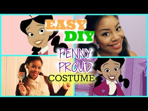 EASY DIY Penny Proud   Last Minute Halloween Costume