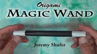 Origami Magic Wand by Jeremy Shafer