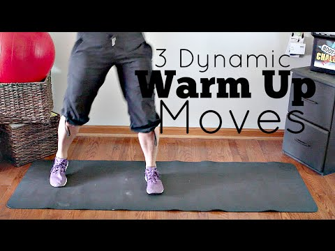 3 Dynamic Warm-up Moves