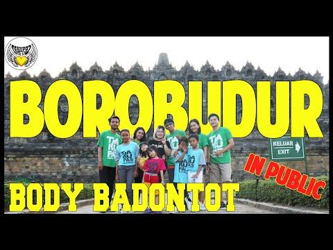 GOYANG BODY BADONTOT DI CANDI BOROBUDUR bersama Fans Magelang - Choreography by Diego Takupaz