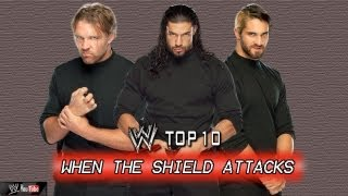 WWE Top 10: When The Shield Attacks