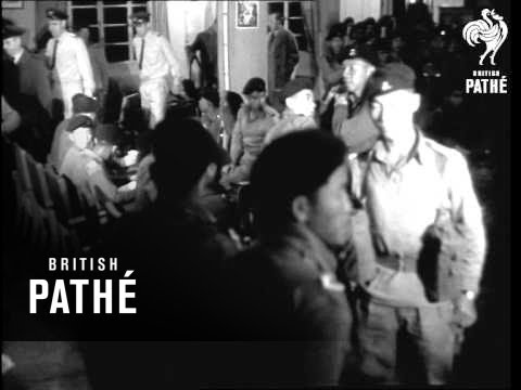 Green Jackets Arriving In Hong Kong (1965)