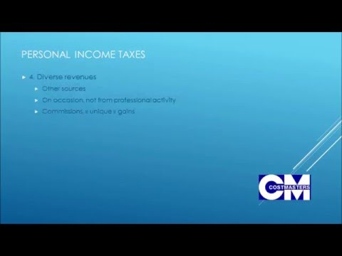 Belgium : introduction to the Personal Income Tax System ( 8 minutes)