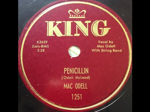 "Mac Odell ""Penicillin"" 1953 country western string band"