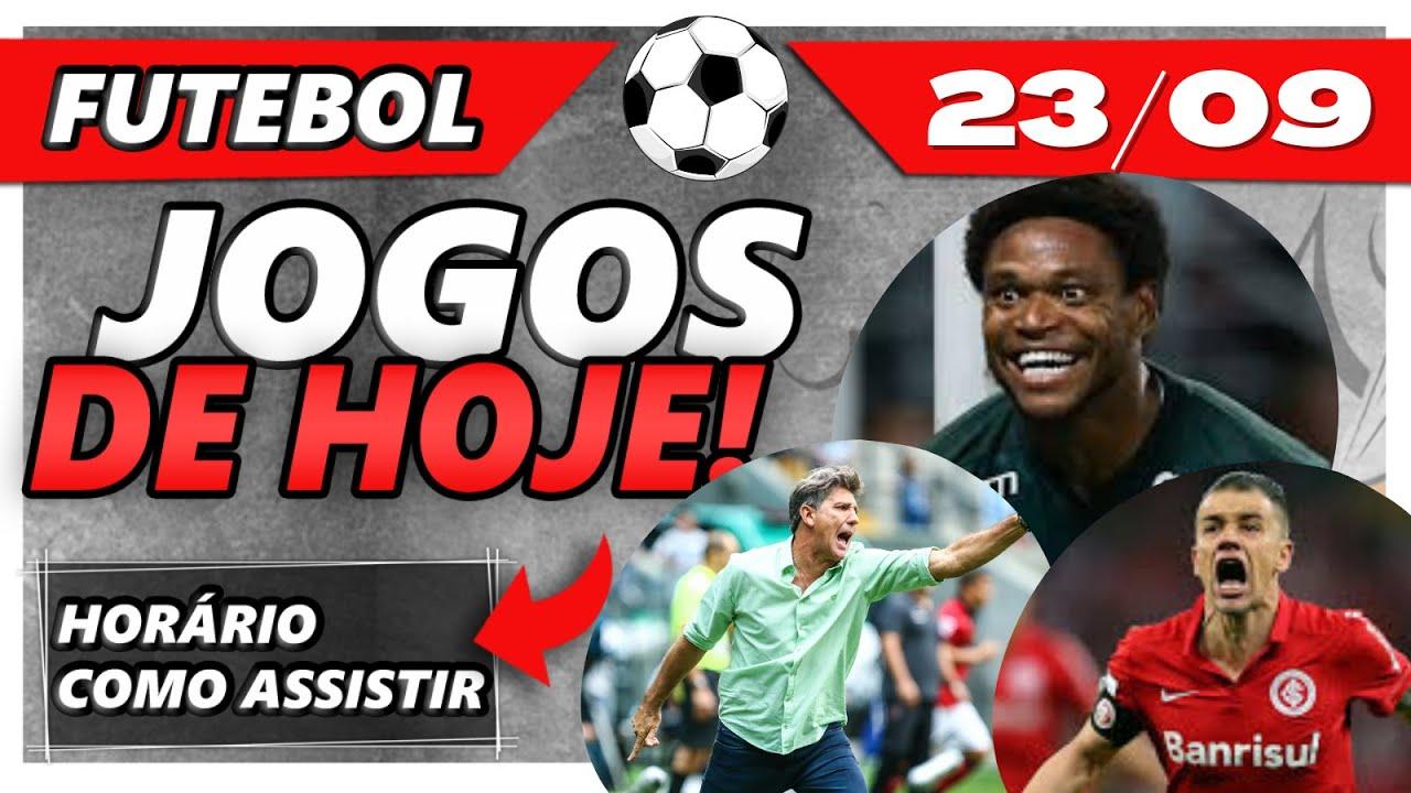 Jogos de Hoje [23/09] | Futebol ao vivo | Futebol Hoje | Quem joga hoje 23/09 | Futebol agora