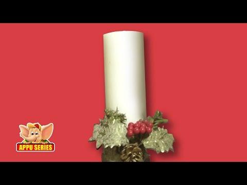 Candle Decoration - Arts & Crafts from YouTube · Duration:  2 minutes 24 seconds