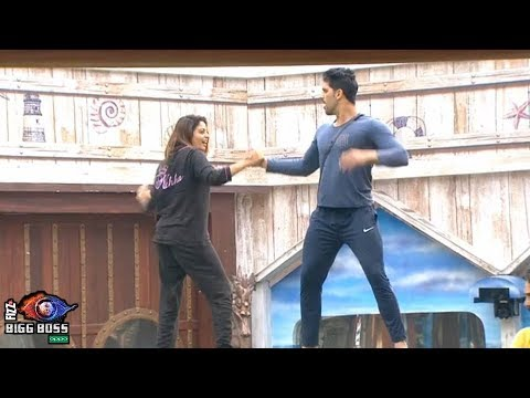 Bigg Boss 12 | Nehha Pendse Amazing Dance With Shivashish Mishra | नेहा और शिवाशिश का डांस | BB 12 thumbnail
