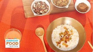 Hot Rice Cereal With Nuts And Raisins - Everyday Food With Sarah Carey
