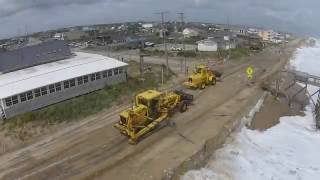 Drone views of Hermine on the OBX   Sept 4 2016