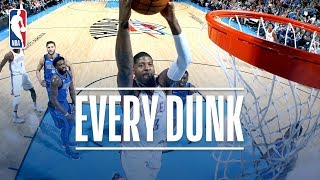 Paul George, Dennis Smith Jr, Al Horford and Every Dunk From Sunday Night | Nov. 12th, 2017