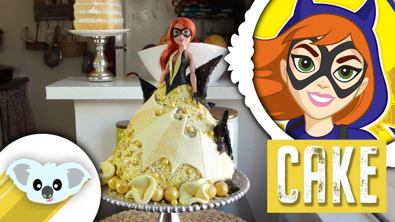 Batgirl Cupcake Cake
