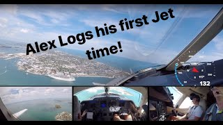 Student Pilot flies Jet! Part 1