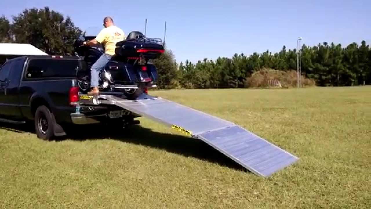 Loadall V3 Motorcycle Ramp System Demonstration Youtube