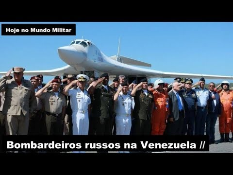 Bombardeiros russos na Venezuela