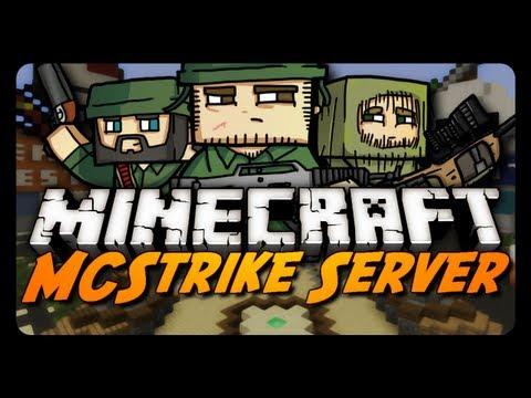 Minecraft: MCStrike Alpha w/ Vaecon! (Shooter Mini-Game)