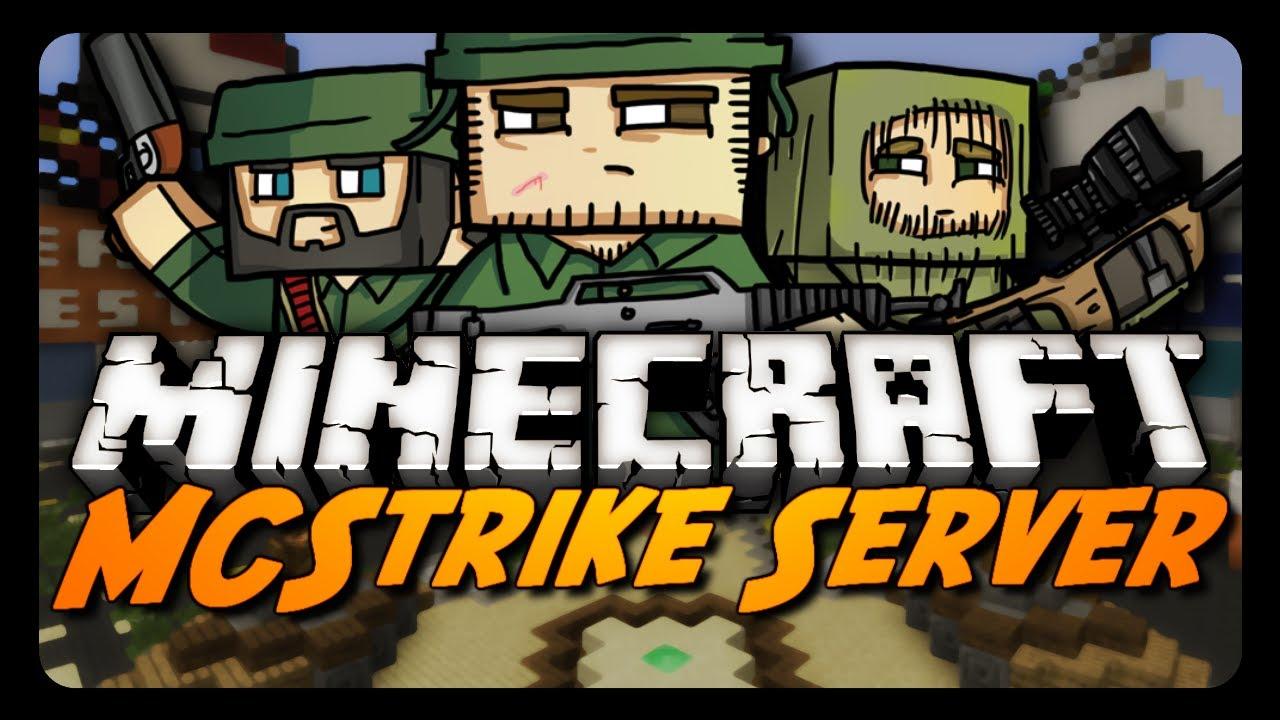 Minecraft MCStrike Alpha W Vaecon Shooter MiniGame YouTube - Minecraft shooter spiele