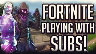 🔴 PLAYING WITH SUBS!  \\ Fortnite XBOX Live stream!! \\ Vbucks Giveaway!