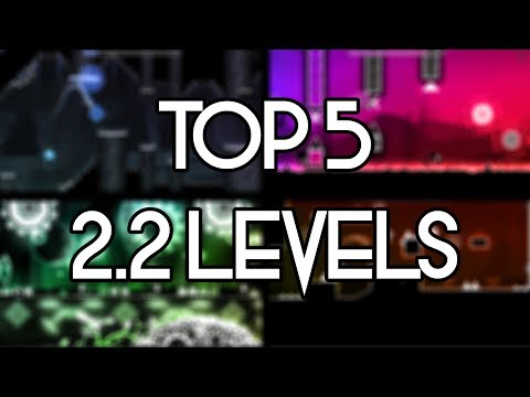 Top 5 Geometry dash 2.2 private server levels!