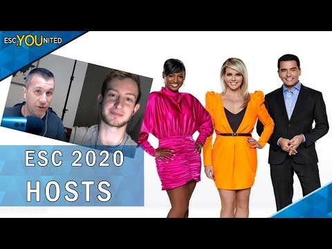 Eurovision 2020 hosts revealed - It's Edsilia, Jan & Chantal