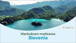 Slovenian huikea luonto yllättää matkaajan