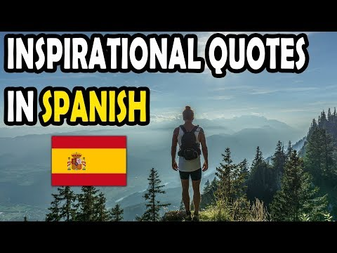 14 Inspirational Quotes in Spanish with English Translations | Famous Quotes in Spanish
