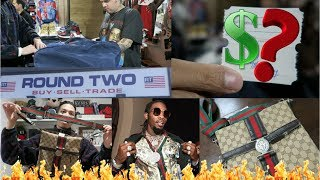 SELLING SESSIONS Ep. 8/Trip To The Thrift #36!! Round Two Hollywood!!! GUCCI GUCCI GUCCI!!!