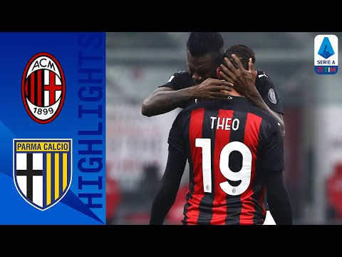 Milan 2-2 Parma | Hernandez scores brace to salvage a point for Milan | Serie A TIM