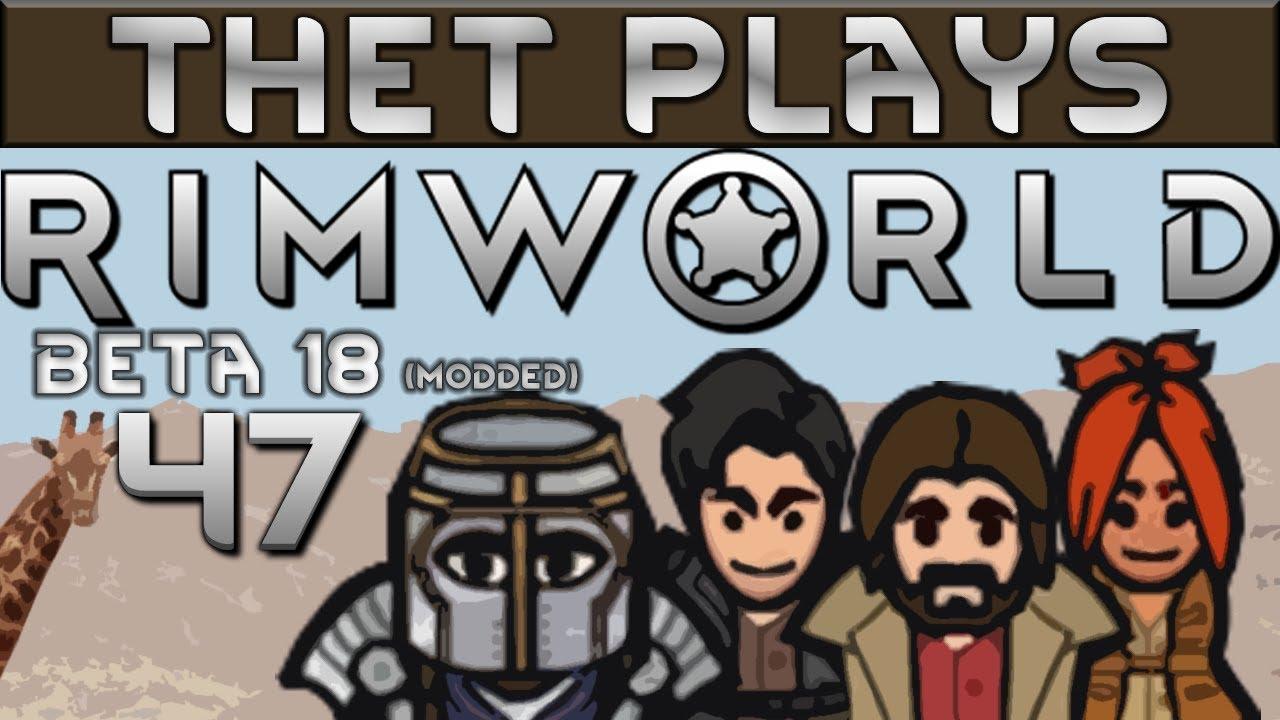 Repeat Thet Plays Rimworld Part 47: Turrets Vs Mechanoids