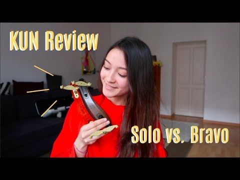 KUN Shoulder Rest Review: SOLO or BRAVO? (+ GIVEAWAY! CLOSED) | Sumina Studer