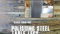 Metal Finishing Welded Square Tube Furniture Legs