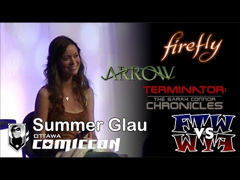 Summer Glau - Ottawa ComicCon Panel - Assembled
