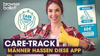 Care-Track – Männer hassen diese App