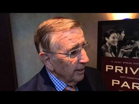 Brent Musburger on receiving Lindsey Nelson Broadcasting Award