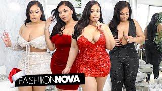 Fashion Nova Curve Holiday 2019 Try-On Haul