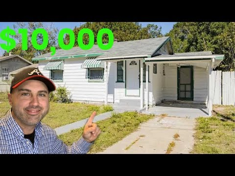 How To BUY A House For $10,000!
