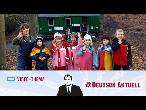 Deutsch lernen B2C1  Kinder raus – in die Natur