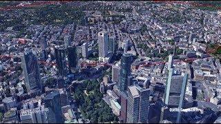 Frankfurt: Vorbereitung auf die Bombenentschärfung