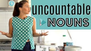 Uncountable English Nouns | Fix Common Grammar Mistakes & Errors