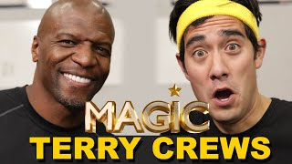 Workout Secrets with Terry Crews + Zach King | Magic with Celebrities EP2