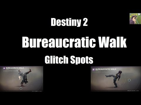 Destiny 2 Bureaucratic Walk Glitch Spots!