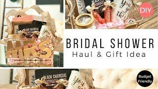 Bridal Shower Gift Haul & Gift Idea | Budget Friendly | Ashleigh Lauren