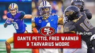 Live! 2018 NFL Draft 49ers Fans Reaction To Day 2 Picks Dante Pettis, Fred Warner & Tarvarius Moore thumbnail