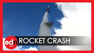 Flat Earther Dies During Homemade Rocket Launch in California