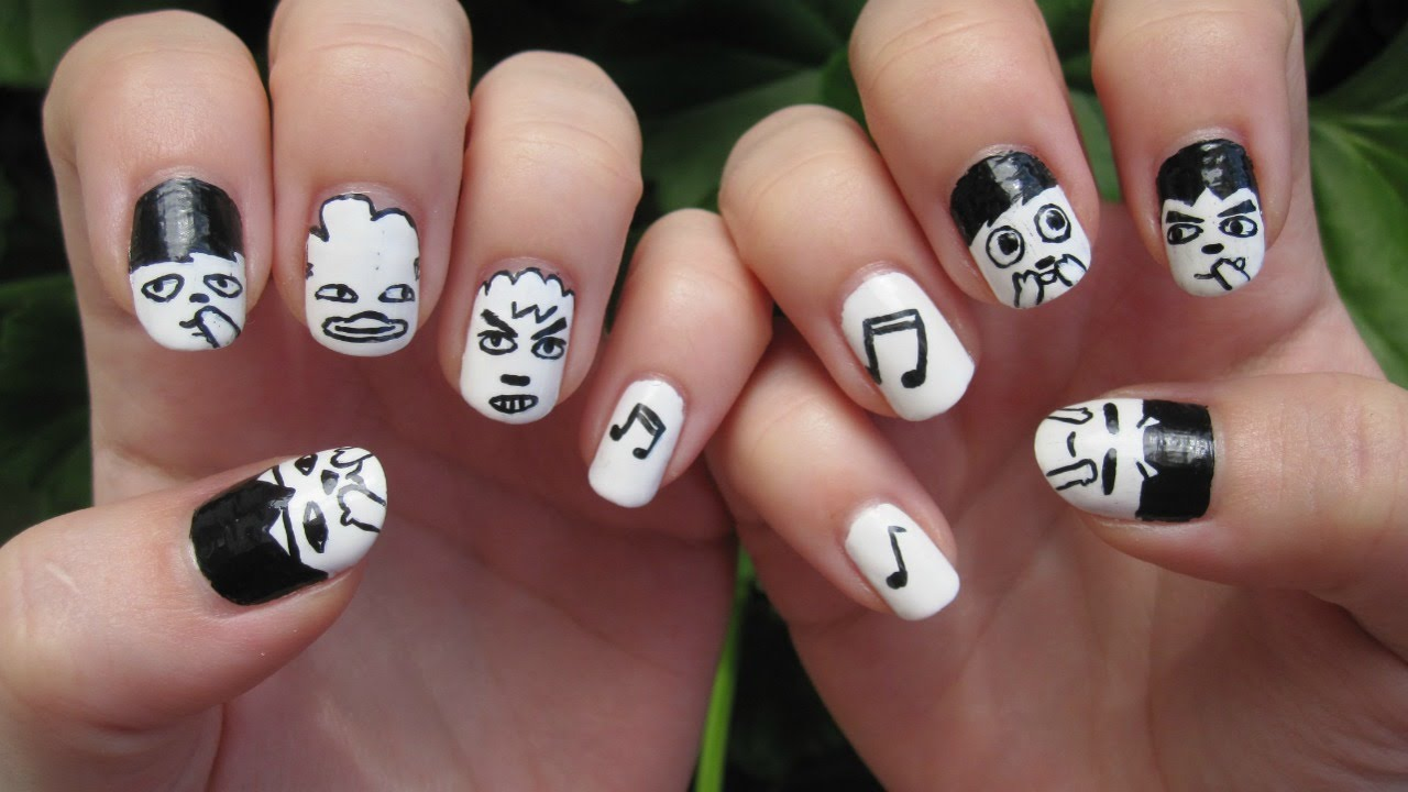 Bts Hip Hop Monster Character Doll Nail Art Youtube