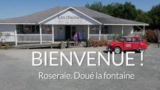 Bienvenue dans la Roseraie - Les Chemins de la Rose